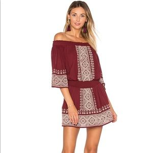 NWT Tularosa Fiona Dress in Mulled Wine Size M